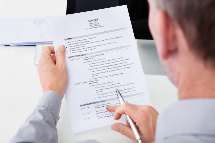 4 things recruiters look for on your resume morgan hunter healthcare